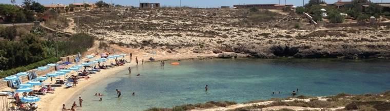 Cala Francese Lampedusa