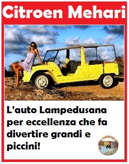 Noleggio Auto Scooter Lampedusa